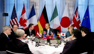 U.S. President Obama participates in a G7 leaders meeting during the Nuclear Security Summit in The Hague